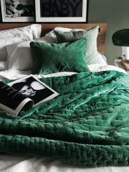 cama verde