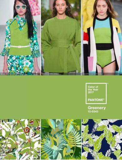 greenery pantone en moda y decoracion