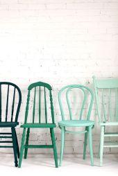 sillas verdes
