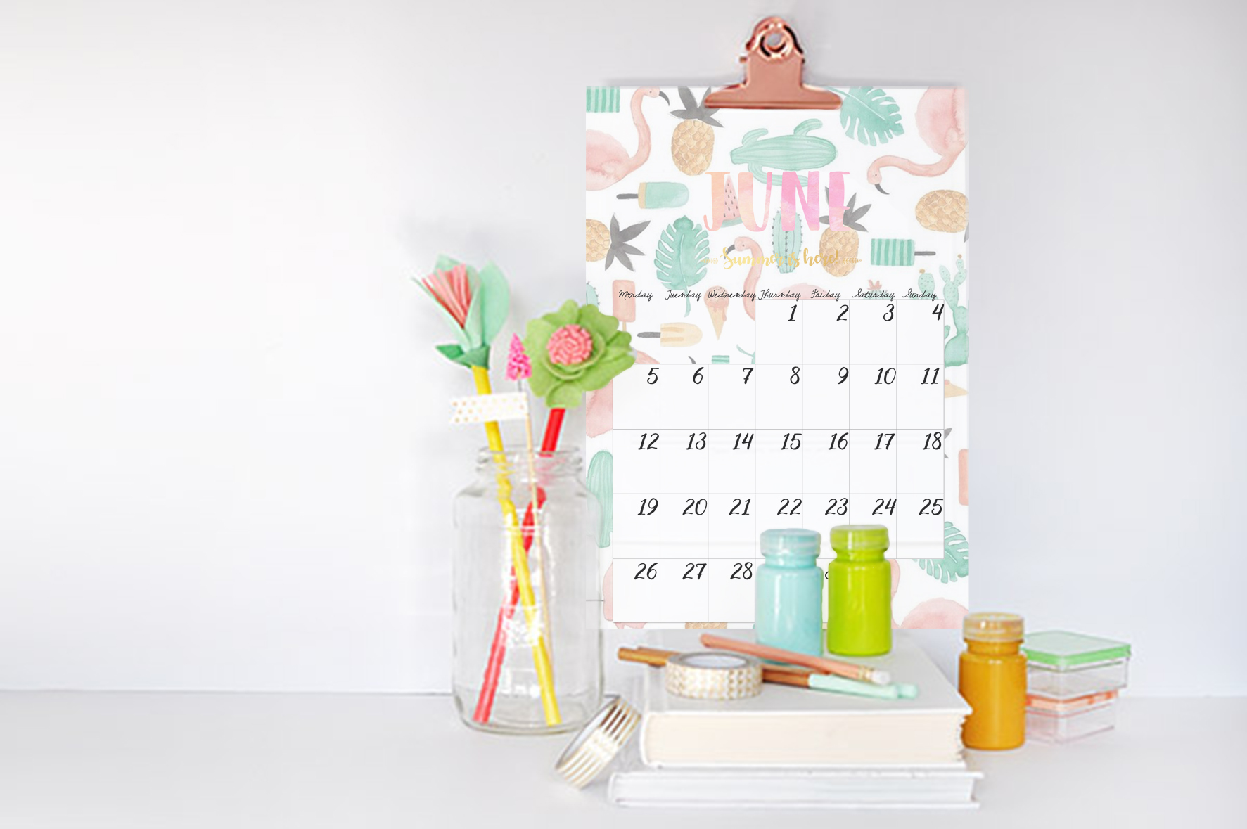 ejemplo calendar june