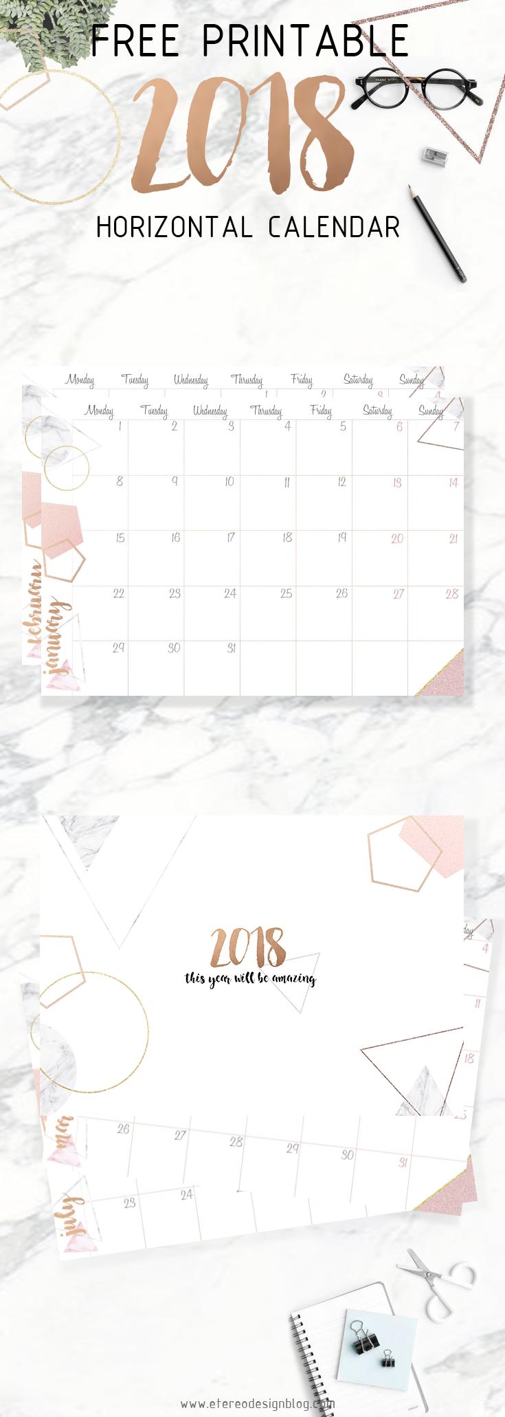 descargar calendario 2018