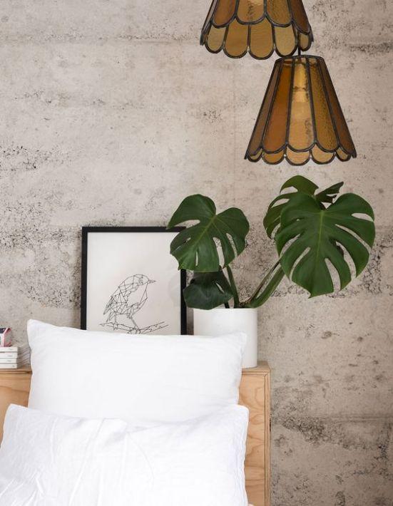 dormitorio con hormigon visto 2