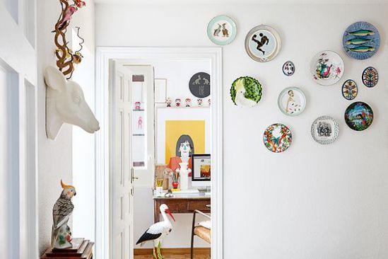 platos ceramico como decoracion