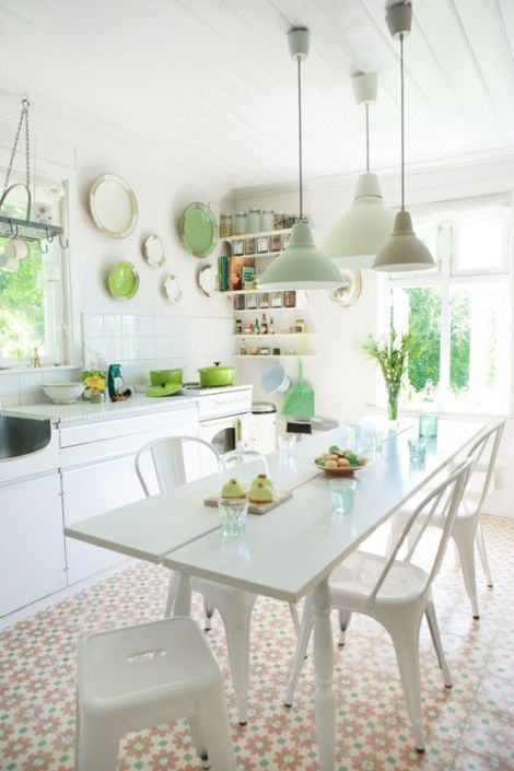 platos ceramicos como decoracion